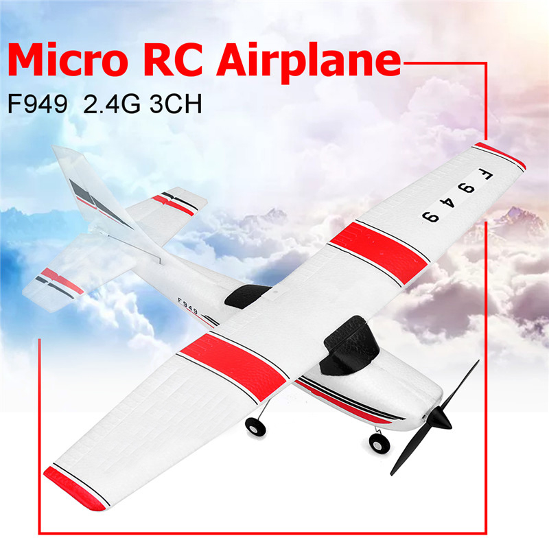 WL-Toys F949 2.4G RC Toy Airplane Aircraft Model Three-channel Hand Throwing Gliders With Fixed Wing image