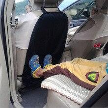 Универсальный автомобильный детский кик-коврик, чехол на заднее сиденье, защитный органайзер, сумка для хранения, износостойкий коврик, анти-ступенчатый грязный Чехол# BL35