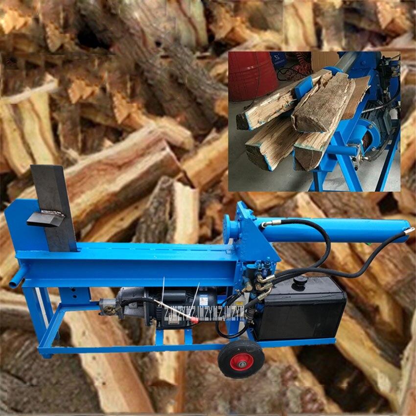 Electric Wood Splitter Hydraulic Chopping Machine Firewood Splitter Garden Tools Firewood Splitting Machine 220V/380V 3KW 10T