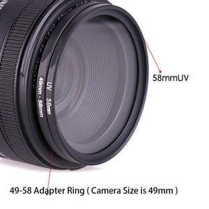 Image 5 - TENENELE מצלמה עדשת מסנן צעד למעלה/למטה טבעת מתאם 49 52 55 58 62 67 72 77 82mm 49mm כדי 82mm כדי 49mm עדשות קליבר מתאם