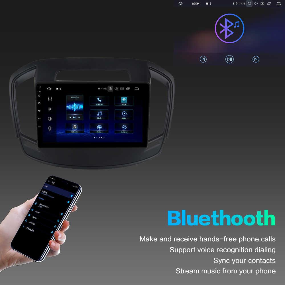 """10,2 """"ips Android 9,0 автомобильный мультимедийный плеер для Opel Insignia 2014 2015 2016 Автомагнитола с DSP HDMI выходом PX6 gps навигация"""