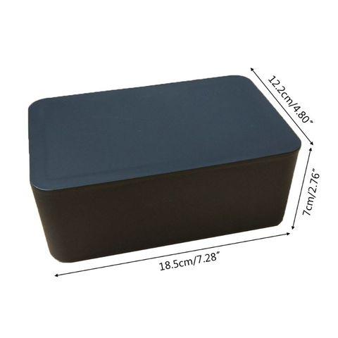 tampa dustproof caixa de armazenamento tecido para escritorio em casa