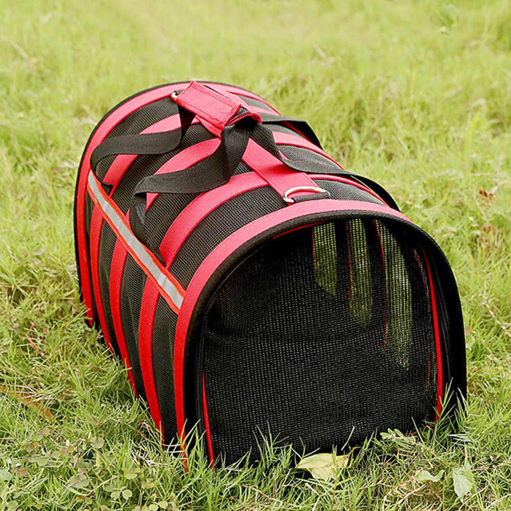 Taşınabilir evcil hayvan çantası kediler köpekler için evcil hayvan kulubesi kedi taşıyıcı köpek taşıyıcı evcil hayvan taşıyıcı çantası küçük köpek Oxford kumaş evcil hayvan seyahat çantası