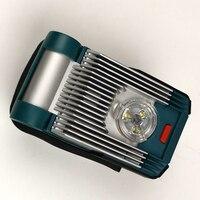 Para dewalt makita milwaukee bosch 18 v 20 v bateria li-ion ferramenta elétrica parte decoração para casa construção conduziu a luz da lâmpada de trabalho
