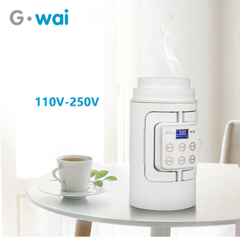 Portable Multifunction Electric Kettle Travel Camping Water Boiler Household Automatic Heating  Stainless Steel Teapot 110V-250V electric heating kettle household 304 stainless steel fast automatic power safety auto off function