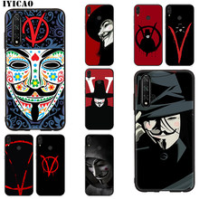 IYICAO V for Vendetta Soft Case for Huawei Mate 30 20 10 Lite Pro Y9 Y7 Y6 Prime 2018 2019 Nova 3i 2i 5i 4 2(China)