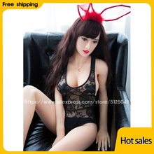165cm Sex Dolls Real Adult Life Big Breast Vagina Sex Toys for Men Tpe Dolls, Full Size Silicone with Skeleton Love Doll