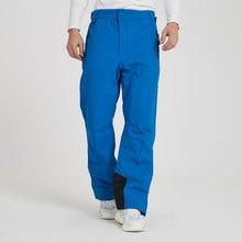 Лыжные брюки мужские зимние уличные тонкие супер водонепроницаемые ветрозащитные дышащие теплые мужские брендовые сноубордические брюки