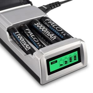 Image 5 - PALO LCD Display 4 Slots Smart Intelligente AA Batterie Ladegerät Für 1,2 V AA / AAA Ni CD Ni Mh akkus