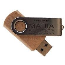 Gedraaid Houten Usb Pendrive U Disk USB2.0 Memory Stick 4Gb 8Gb 16Gb 32Gb Pen Drive Persoonlijke usb Flash Drive Over 10Pcs Gratis Logo