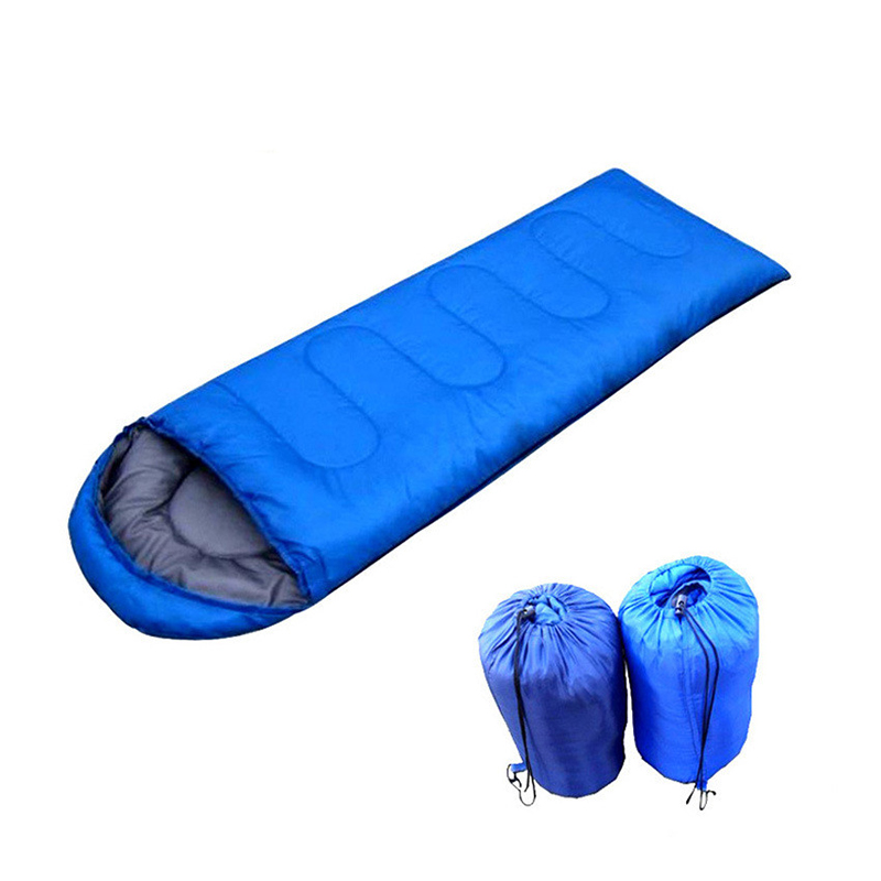 Envelope Style Sleeping Bag Outdoor Winter Prevent Waterproof Polyester Sleeping Bag Adult Camping Hiking Climbing Travel #SD