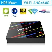 H96 MAX Plus Android 9.0 TV Box RK3328 Quad Core Android Set