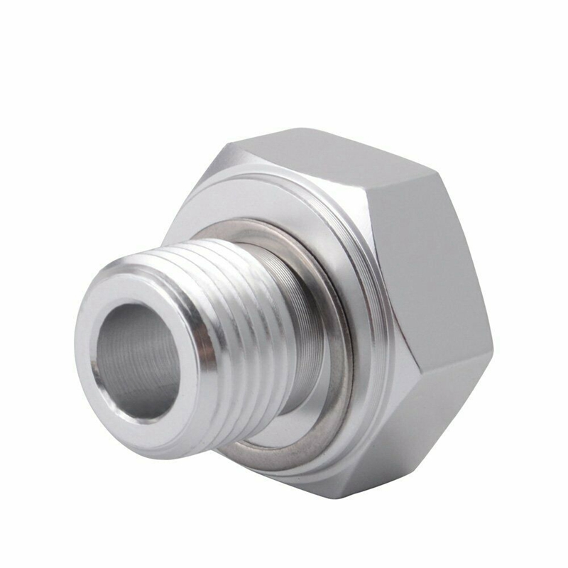 Oil Pressure Sensor Adapter KOXUYIM for GMC Chevy Oil Pressure Switch Swap Male M16x1.5 to Female 1//8 NPT fit for All GM LS Series Engines