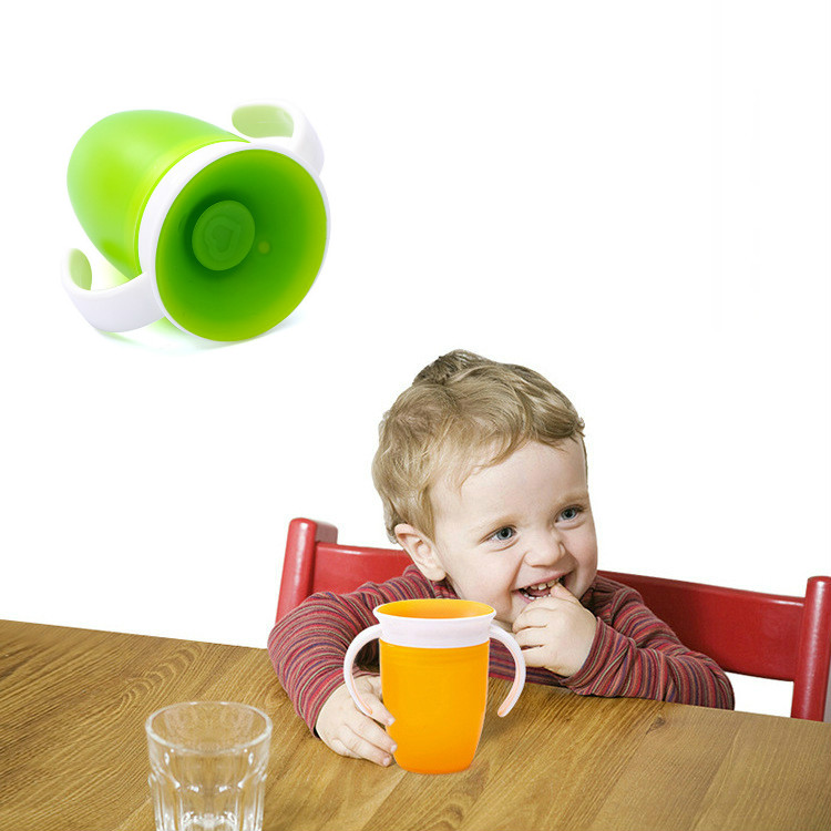 360 Degree Leak Proof Cup Baby Learning Drinking Water Bottle Anti Spill Kids Magic Cups Toddlers Safe Feeding