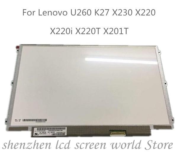 12.5 calowy LP125WH2-SLB1 SLB3 LP125WH2-SLT1 dla Lenovo thinkpad X220 X230 IPS wyświetlacz lcd do laptopa LED ekran 1366*768 LVDS 40 pinów