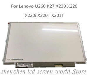 12.5 inch LP125WH2-SLB1 SLB3 LP125WH2-SLT1 for Lenovo thinkpad X220 X230 IPS Display Laptop LCD LED Screen 1366*768 LVDS 40pins