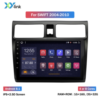 10.1 INCH Android 8.1 car Multimedia video player For suzuki swift 2004-2010 car radio GPS navigation system BT 2 din no dvd image