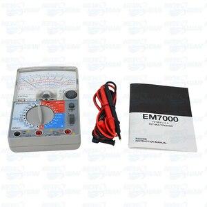 Image 5 - EM7000 아날로그 멀티 테스터/FET 테스터 저 커패시턴스 전기 측정 용 고감도