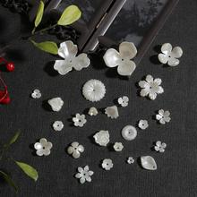 Beads-Caps Spacer-Beads Jewelry-Findings Necklace Flower-Shape Acrylic Bracelets Alloy