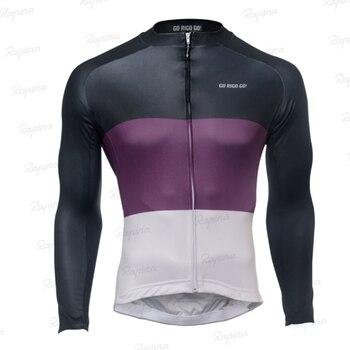 GO RIGO-ropa profesional de invierno para hombre, jersey de ciclismo de lana,...