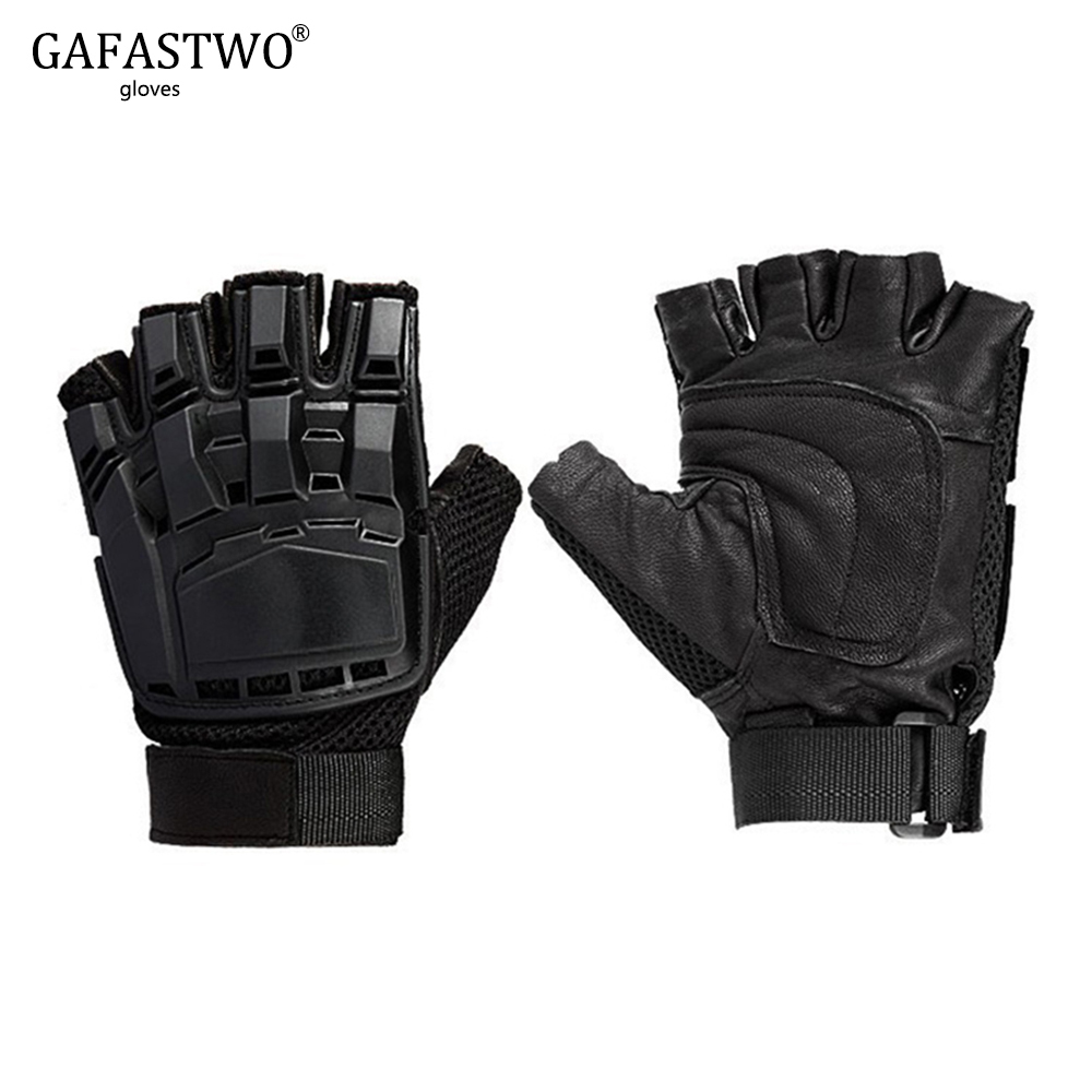 New Outdoor Sports Protection Tactical Gloves Mens Sweat-Absorbent Breathable Wear-Resistant Anti-Skid Riding Gloves Ladies