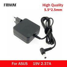 19V 2.37A 45W 5.5x2.5 milímetros Adaptador de Carregador Para Asus X450 X551CA X555K53S K52F X555L F555L X552C X550C X550 X550L X501A ADP-45BW
