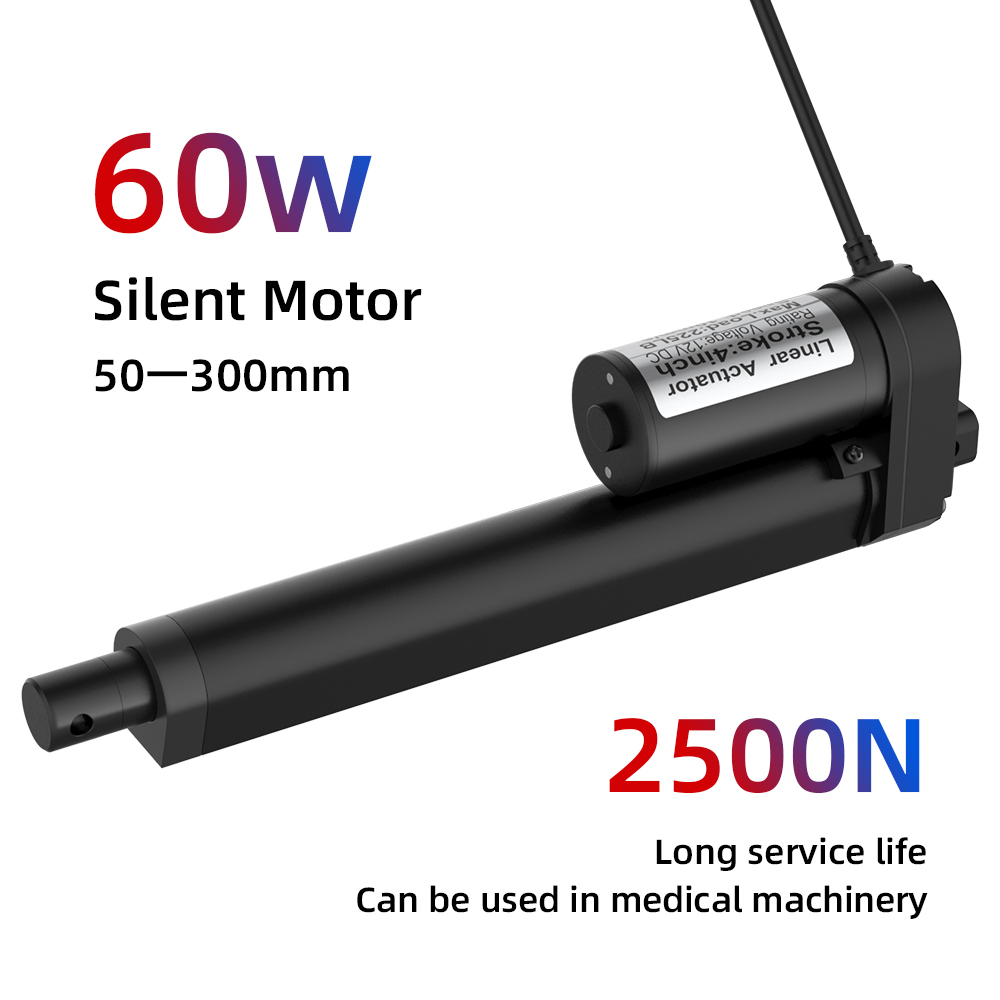 Linear Actuator 12V Metal Gear Electric Linear Motor For Medical Auto Car  Moving Distance Stroke 2Inch 4Inch 6Inch 8Inch 10Inch