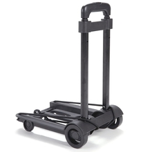 Folding Luggage Cart Portable Trolley Travel Trunk Trailer Trolley Light Hand Cart Adjustable Home Travel Shopping Cart цена
