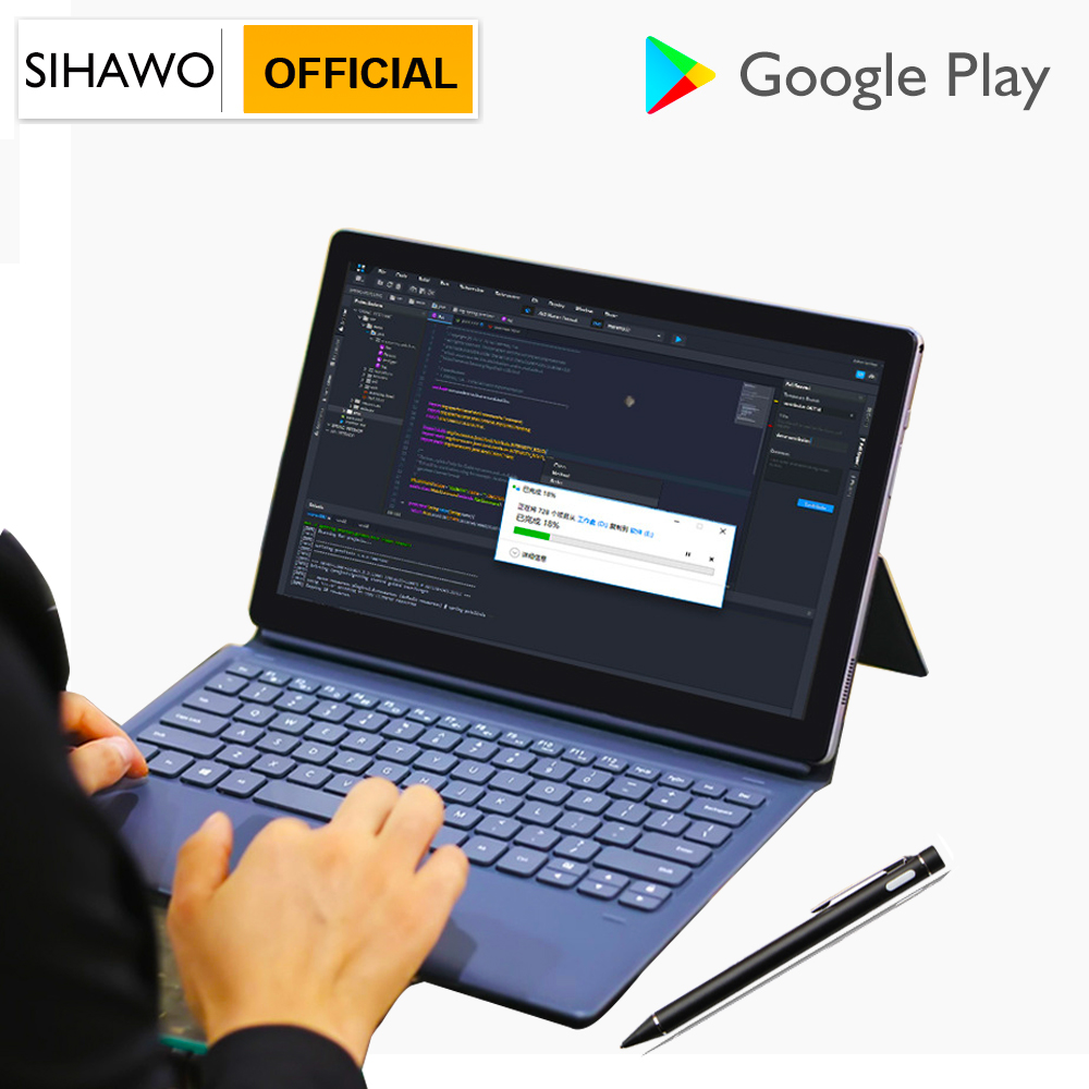2020 New 12Inch 2560x1600 MTK 6797 X27 10 Core Android 8.0 Tablet PC 8GB RAM 128GB ROM Dual Camera 4G LTE 2 In 1Touchpad Tablets