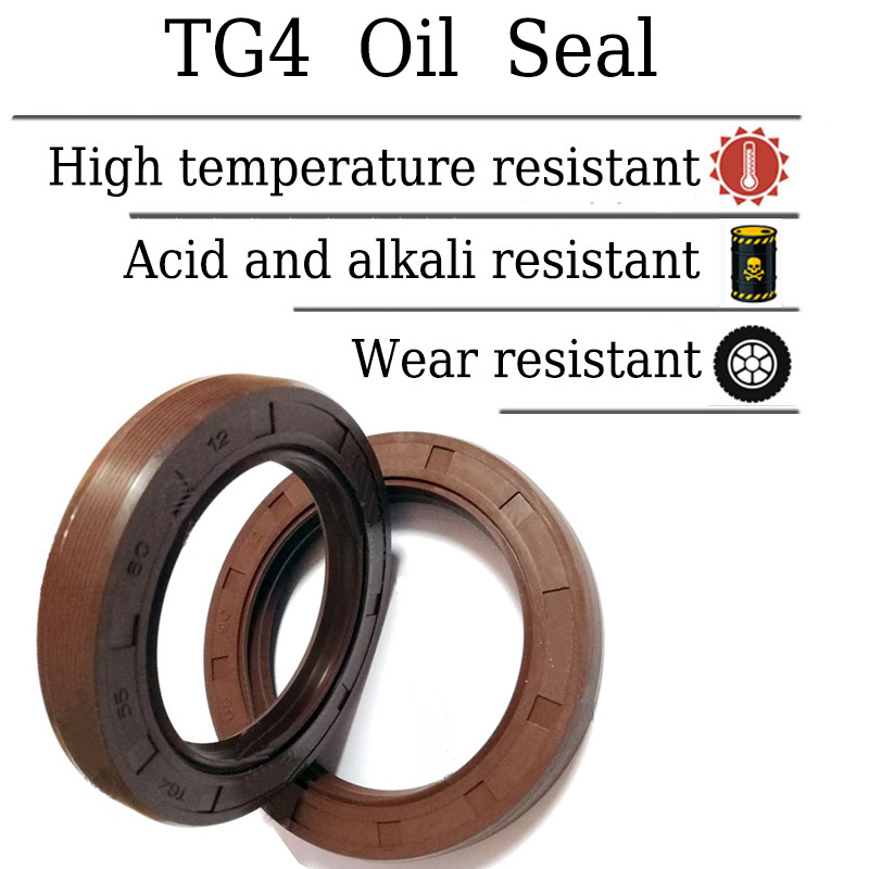sourcing map Oil Seal Nitrile Rubber Cover Double Lip TC 19mm x 30mm x 7mm