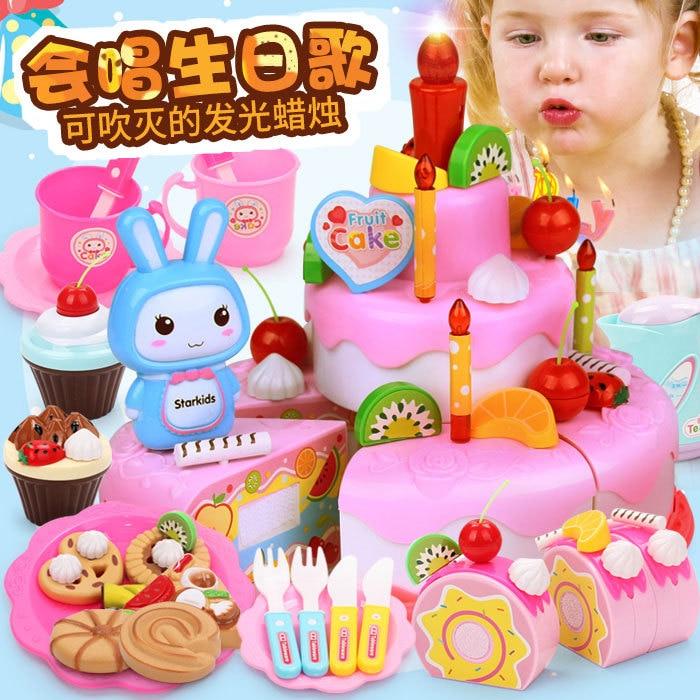 Astonishing Children Diy Fruit Cake Will Singing Happy Birthday Cake Candle Personalised Birthday Cards Paralily Jamesorg