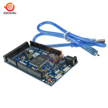 Para arduino devido r3 braço versão principal at91sam3x8e 32-bit arm Cortex-M3/mega2560 r3 6-20v 84 mhz com cabo