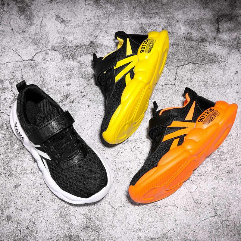 Marka çocuk ayakkabı erkek çocuk kız için kız çocuk çocuk ayakkabı spor Tenis infantil menina menino Filla Feminino rahat Tenis