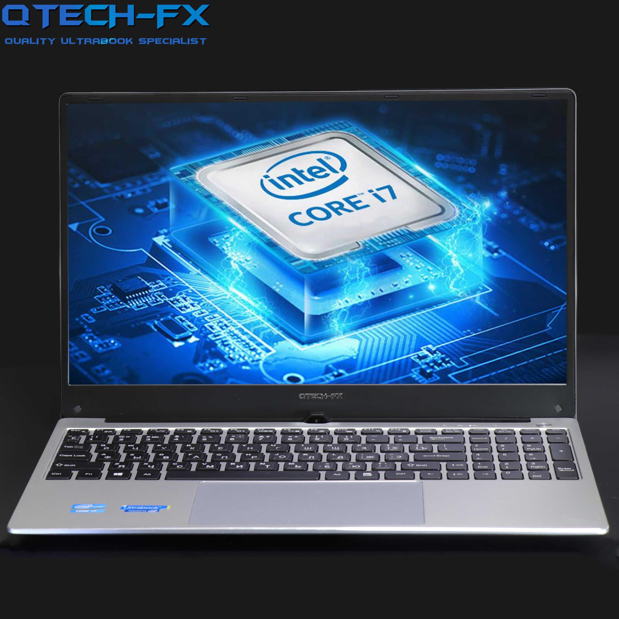 "15.6 ""Gaming I7 Metalen Ssd 256 Gb Hdd 1 Tb 16 Gb Ram Cpu Intel Windows 10 Kantoor School azerty Italiaanse Spaans Russisch Toetsenbord Ligh"
