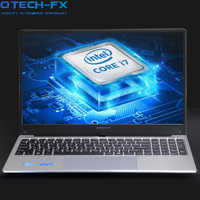 "15.6"" Gaming Laptop i7 8GB RAM SSD 256GB HDD 1TB Large Notebook PC DVD Metal Business AZERTY Italian Spanish Russian Keyboard"