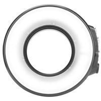 SL 108 Ring Flash Light USB Charging Waterproof 40m 7500k Underwater Lamp Led Photography Selfie Easy Install For GoPro Cameras