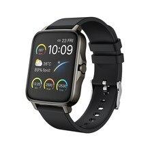 Relógio inteligente masculino esportes à prova dpágua rastreador de fitness p38 freqüência cardíaca pressão arterial monitor sono bluetooth pulseira para ios android
