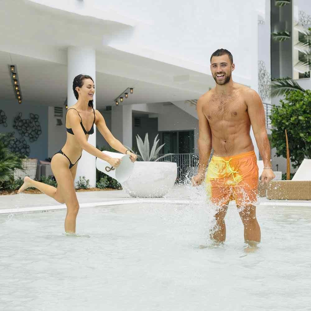 2020 Nieuwe Verbazingwekkende Kleur Veranderende Zwembroek Badmode Badpak Slip Mannen Zwemmen Shorts Voor Mannen Beach Swim Mannelijke Slips sexy Gay