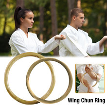 Asa chun rattan anel de madeira natural anéis asa chun kung fu pulso força da mão equipamento de treinamento exercício físico anel