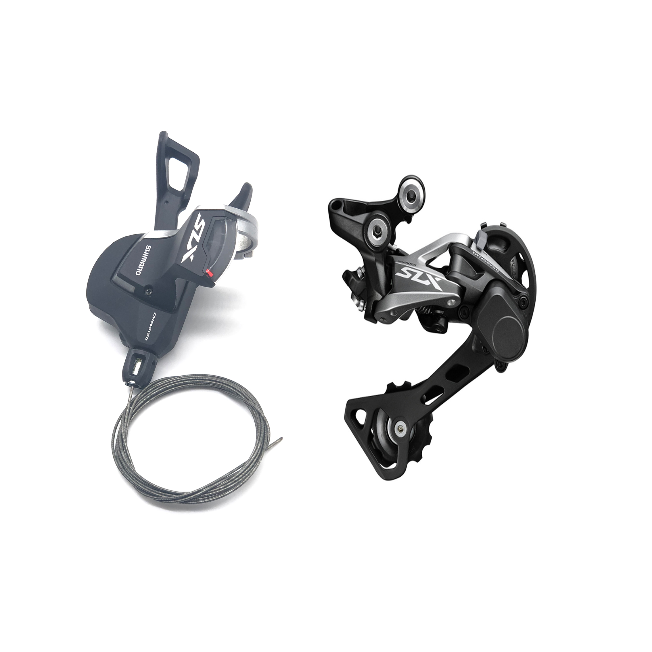 <font><b>Shimano</b></font> <font><b>SLX</b></font> <font><b>M7000</b></font> Right Shift Lever <font><b>11</b></font>-speed RD-<font><b>M7000</b></font>-SGS GS Long Cage Rear Medium Cage Rear Derailleur image