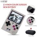 Video Spiel Konsole Neue BittBoy-Version 3,5-Retro Spiel Handheld Spiele Konsole Spieler Fortschritt Sparen/Last MicroSD karte Externe