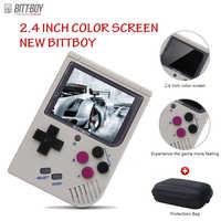 Video Console di Gioco Nuovo Bittboy-Version3.5-Retro Giochi Giocatore Console di Gioco Palmare Progresso Save/Carico Microsd Card esterno