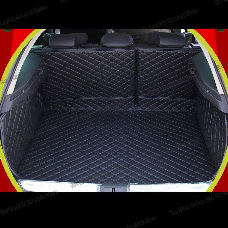 Lsrtw2017 кожаный коврик для багажника автомобиля для citroen ds5 2013 2014 2015 2016 2017 2018 2019 2020 аксессуары для ковров интерьера