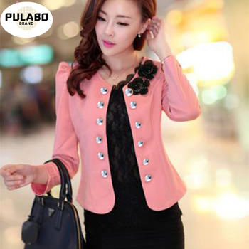 New Feminino Spring Ol Summer Style Slim Female Coat Short Woman Clothes Jackets Suits Outdwear Coat Women Plus Size