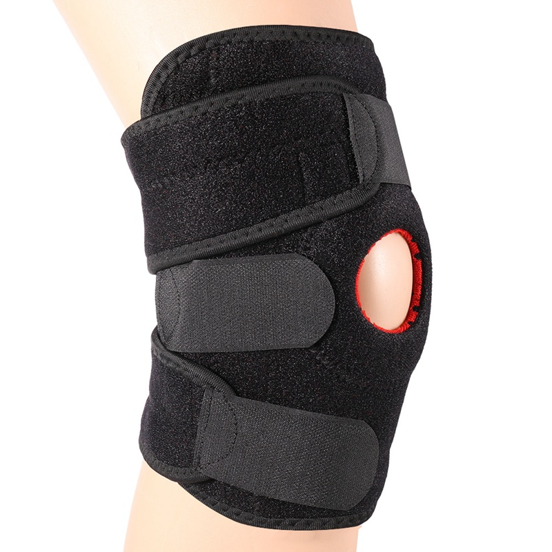 Running Fitness Sports Knee Sleeve Cycling Knee Brace Compression Knee Support Men Women Sponge Jogging Protector Pads Durable