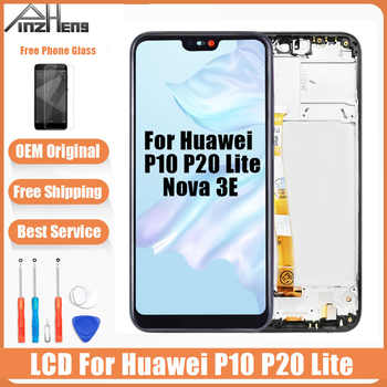 AAAA Original LCD For Huawei P10 P20 Lite LCD Touch Screen Display Digitizer Assembly Replacement For Huawei Nova 3E Screen - DISCOUNT ITEM  40% OFF All Category
