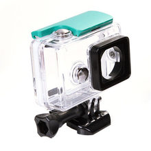 For Xiaomi Yi Sports Action Camera Waterproof Underwater Diving Housing Case 40M(Green)(China)