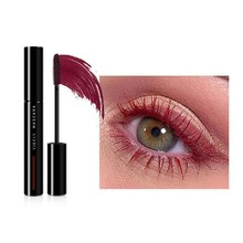 5 Color Mascara Curl Liquid Eyelashes Stretching Makeup Waterproof Long-lasting Mascara Color Red Orange Yellow Green Blue