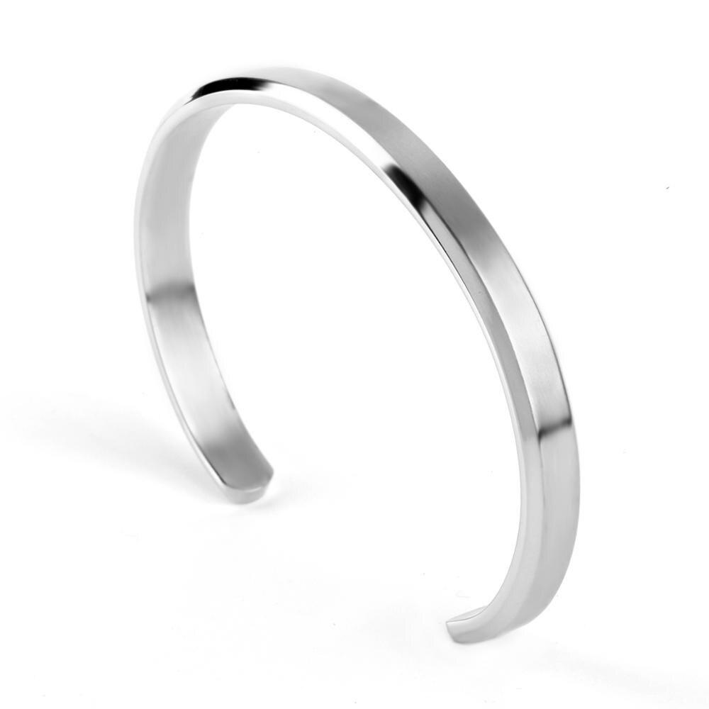 Cuff Bracelets Bangles Men Women Stainless Steel Gold Bangle Love Viking Unisex Pulseras Luxury Fashion Jewelry bangles Jewelry & Watches