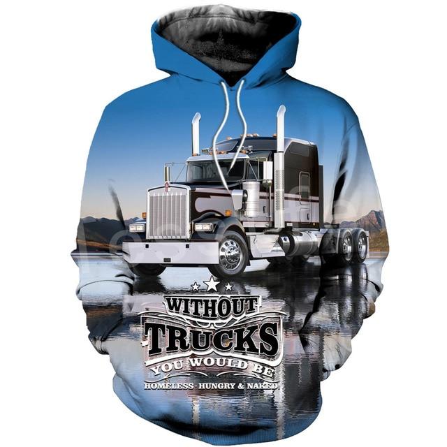 Tessffel я Кепка тракер водителя грузовика Рабочий костюм пуловер